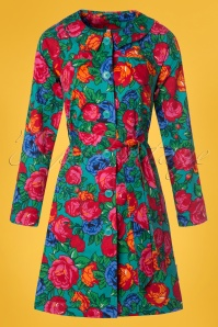 Blutsgeschwister Sunshine of mine floral coat  151 49 23494 20180305 0002W