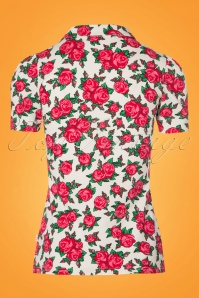 Blutsgeschwister Roses Blouse 111 59 23483 20180305 0005W