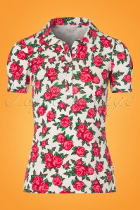 Blutsgeschwister Roses Blouse 111 59 23483 20180305 0001W