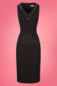 Daisy Dapper Alisa Black Pencil Dress 100 10 23569 20180305 0004W