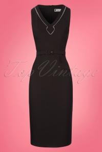 Daisy Dapper Alisa Black Pencil Dress 100 10 23569 20180305 0004W