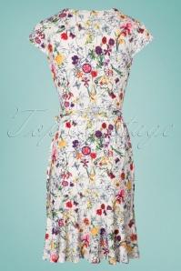 Yumi Frill Hem Jersey Floral Dress 100 59 22932 20180306 0009W