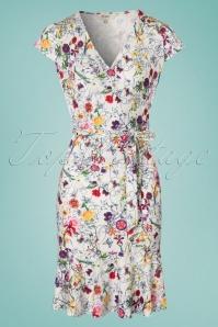Yumi Frill Hem Jersey Floral Dress 100 59 22932 20180306 0002W