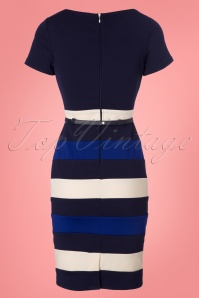 Paper Dolls Colorblock Striped Pencil Dress 100 39 23920 20180306 0009W