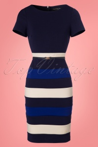 Paper Dolls Colorblock Striped Pencil Dress 100 39 23920 20180306 0001W