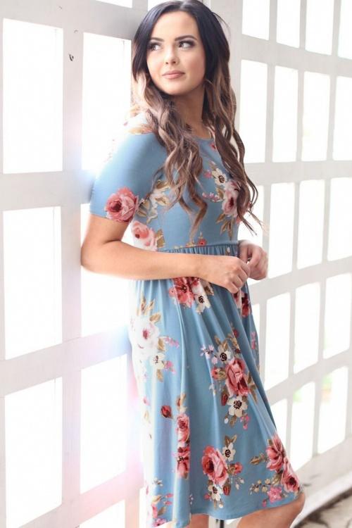 Mikarose The Natalie Blue Floral Dress 102 39 24957 20180306 00011