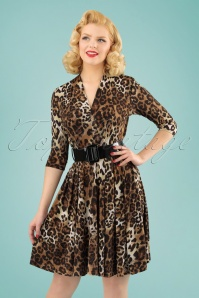 Vintage Chic Leopard Swing Dress 102 79 24668 20180307 1W