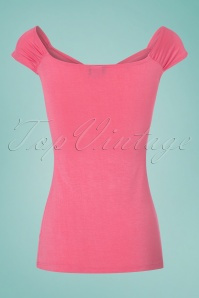 Retrolicious Isabel Top in Pink 110 22 25131 20180306 0005w