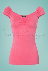 Retrolicious Isabel Top in Pink 110 22 25131 20180306 0001w