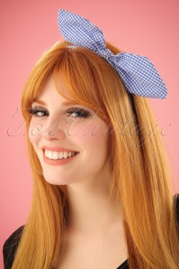 Vixen Bow Headband in Blue 208 30 23371 17022014 001W