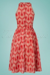 Retrolicious Modern Vintage Orange Dress 102 27 25132 20180308 0006w