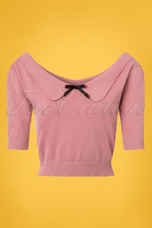 7837db6ce8 Collectif Clothing Babette Jumper in Pink 22547 20171122 0005W