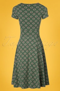 Blutsgeschwister O'ahula Aloha Dress in Green 102 49 23466 20180305 0009W