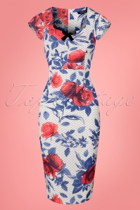 Vintage Chic Scuba Pencil Rose Dress 100 59 24482 20180302 0001V