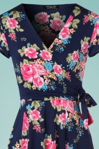 Vintage Chic Layla Roses Floral Dress 102 39 24534 20180302 0001V