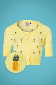 Dancing Days by Banned Pineapple Yellow Cardigan 140 89 24287 20180312 0002wv