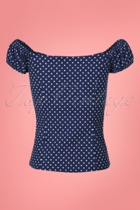 Dancing Days by Banned Polkadot Off shoulder Top 110 27 24254 20180312 0008W