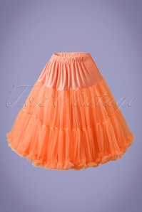 Lola Lifeforms Petticoat Années 50 en Orange