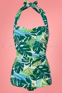 Esther Williams Tropical Leaf Bathing Suit 24143 20180308 0002W