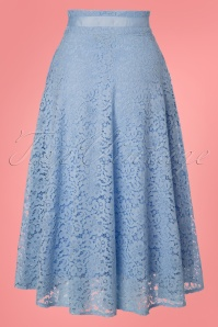 Dancing Days by Banned Love Lace Blue Skirt 122 30 24313 20180313 0008W