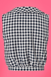 Dancing Days by Banned Summer Breeze Black Checked Top 112 14 24322 20180313 0008w