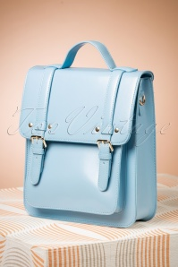 Banned Alternative 60s Cohen Handbag in Baby Blue
