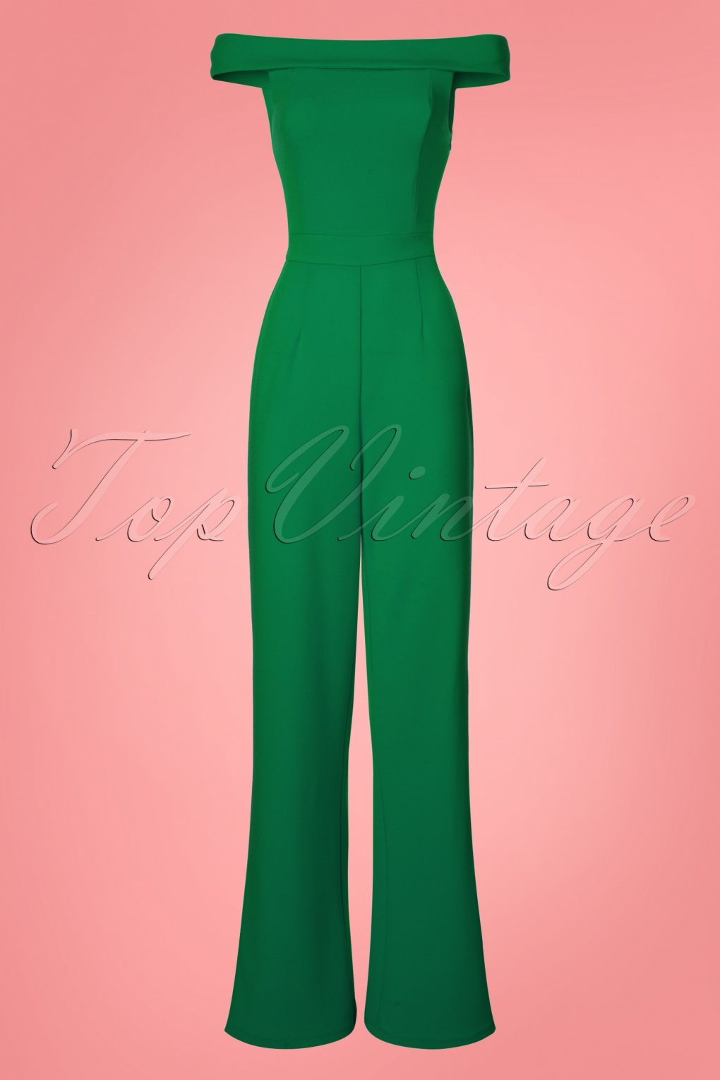 280832306cba 70s Mono Gamboge Jumpsuit in Green