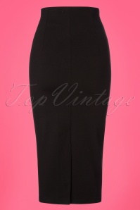 Retuned Penny Pencil Black Skirt 120 10 25173 20180315 0008W