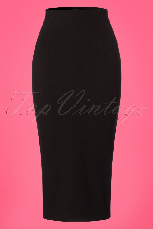 Retuned Penny Pencil Black Skirt 120 10 25173 20180315 0002W