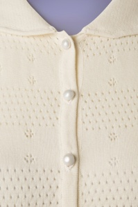 Collectif Clothing Carly Cardigan in Ivory 20754 20161130 0008W