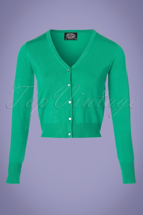 Hearts and Roses Green Cardigan 140 40 18995 20180314 0002W