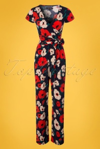 King Louie Farah Floral Jumpsuit 133 39 23316 20180316 0002W