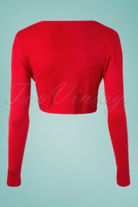 Banned  Vintage Bolero in Red 12731 20140305 0004 BackW