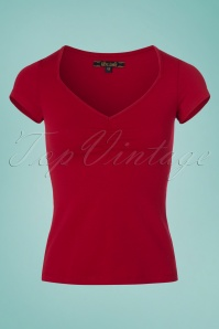King Louie Red Lycra Top 111 20 23180 20180316 0002W