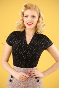 King Louie Emmy Blouse Polkadots 112 14 23286 20180213 0008W