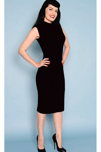 Mod dress black website formaat