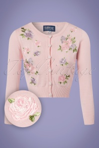 Collectif Clothing Abigail English Garden Cardigan in Pink 22548 20171122 0004W1