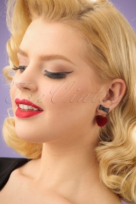 Collectif Heart Earrings 333 20 24364 03032014 001W