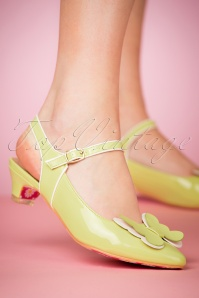 Banned Fifi Green Sandals 420 40 24137 15032018 001W