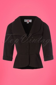 Miss Candyfloss Black Suit Jacket 153 10 24188 20180215 0001W