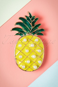 Collectif Pineapple Brooch 340 80 24360 20112017 001W
