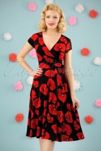 Vintage Chic Layla  Poppy Dress 102 14 24533 20180302 0007W