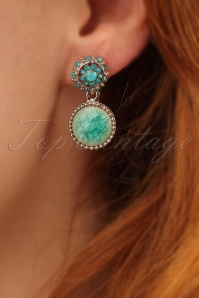 Glamfemme Turquoise Earrings 333 39 24977 31032014 002W
