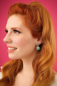 Glamfemme Turquoise Earrings 333 39 24977 31032014 001W