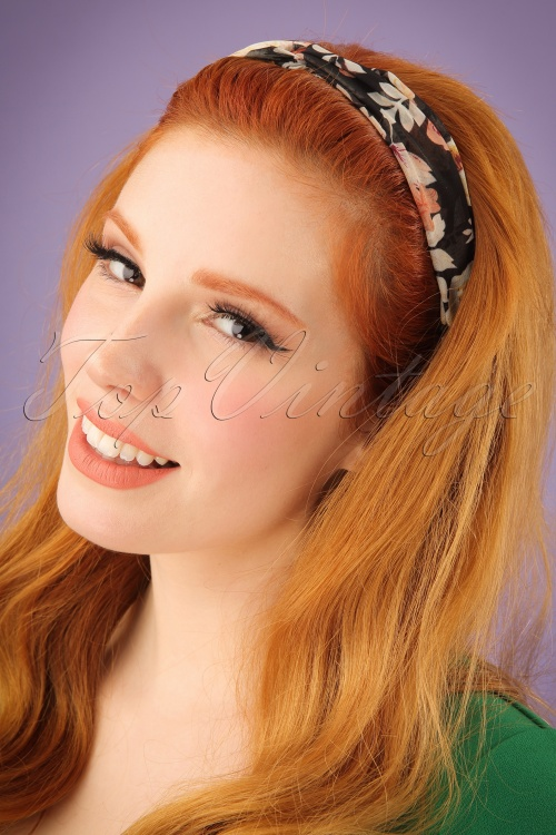 Darling Divine Floral Hairband 208 14 24691 31032014 001W