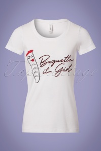 Unique Vintage White Baguette it Girl Top 111 50 24910 20180319 0002w