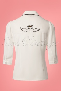 Dancing Days by Banned Swan Lake White Blouse 122 50 24273 20180319 0007w