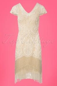 GatsbyLady Vegas Cream Flapper Dress 100 51 25171 20180320 0005W