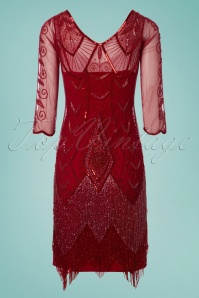 GatsbyLady Scarlet Red Flapper Dress 100 20 25172 20180320 0016W