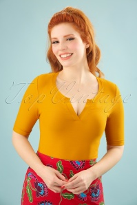 Bakery Ladies 3 4 Sleeves Top in Amber 111 80 23549 20180322 001W